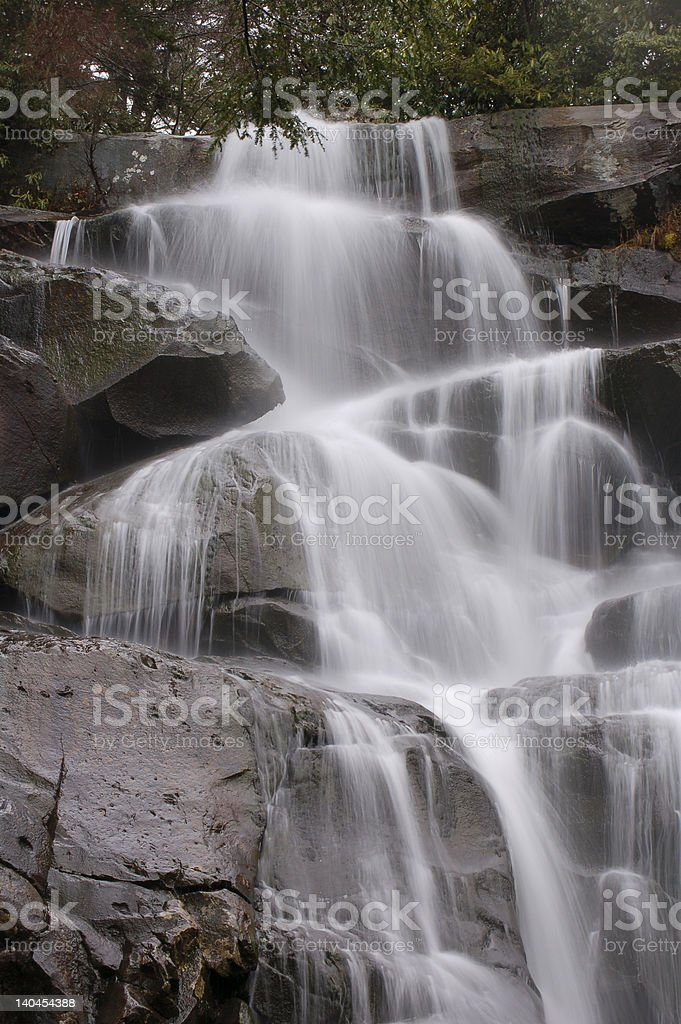 Smokey Mountain Waterfall royalty-free stock photo