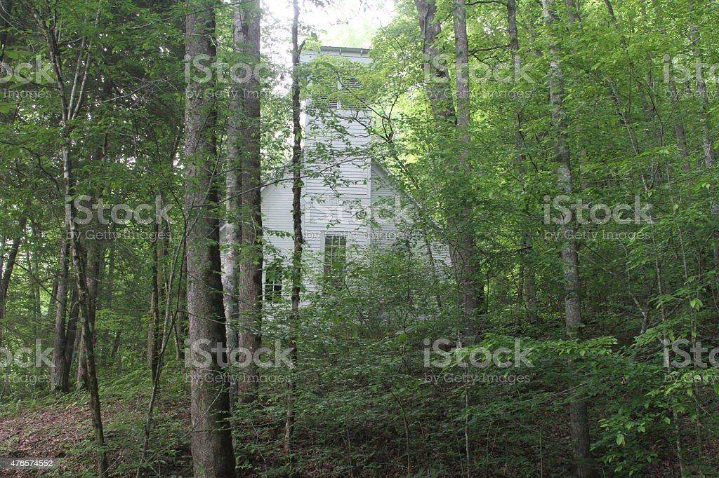Smokey Mountains stock photo