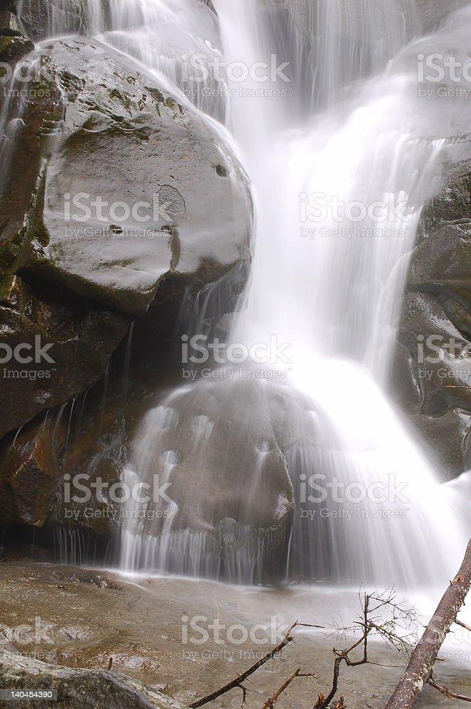 Smokey Mountains Waterfall royalty-free stock photo