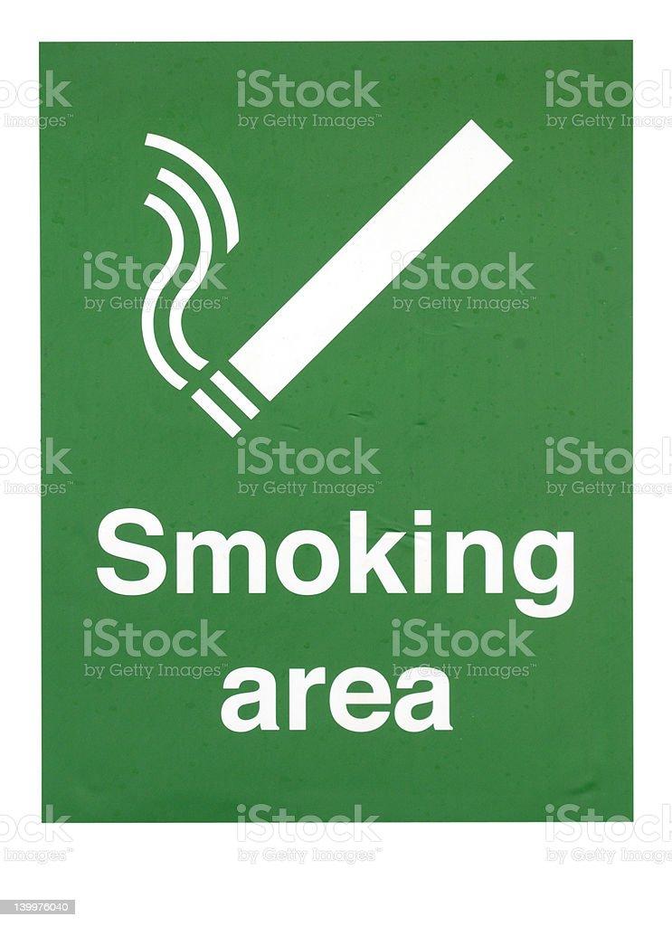 Smoking allowed stock photo