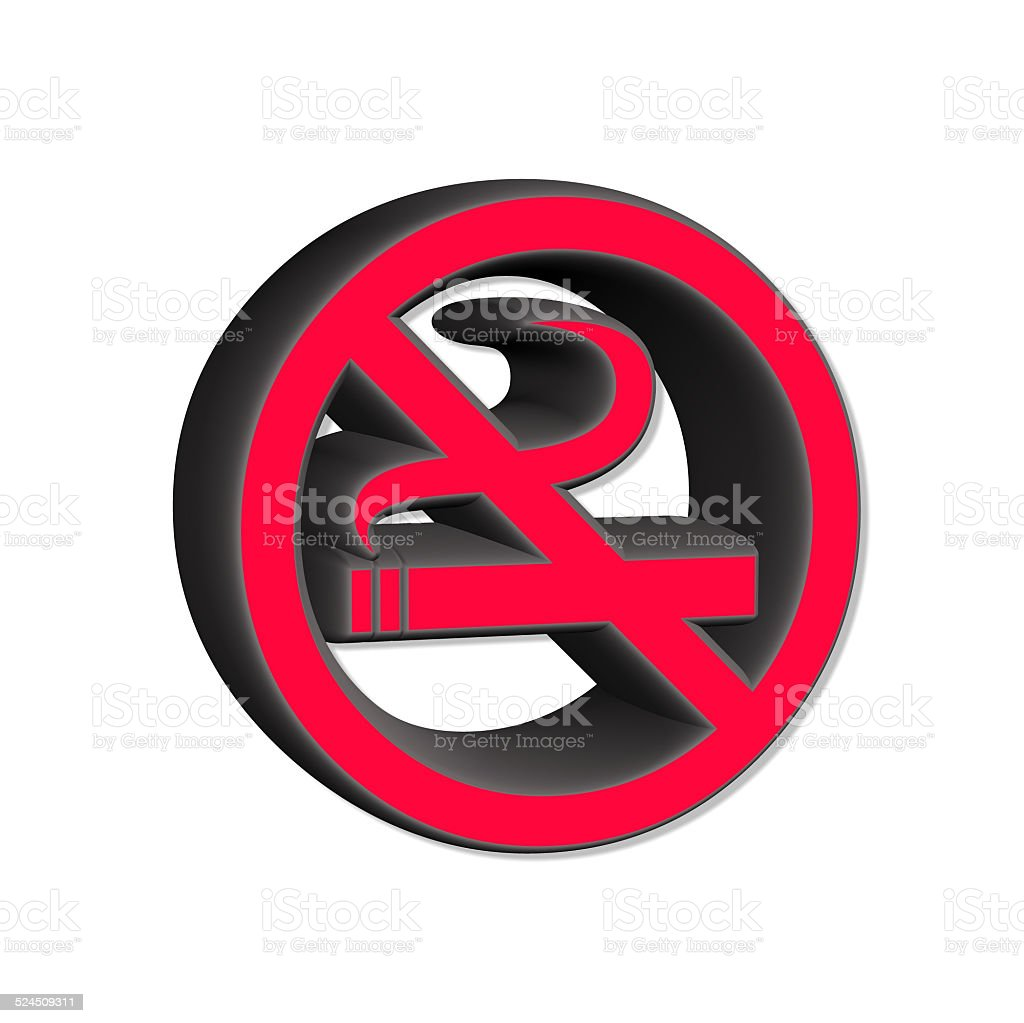 smoking ban stock photo