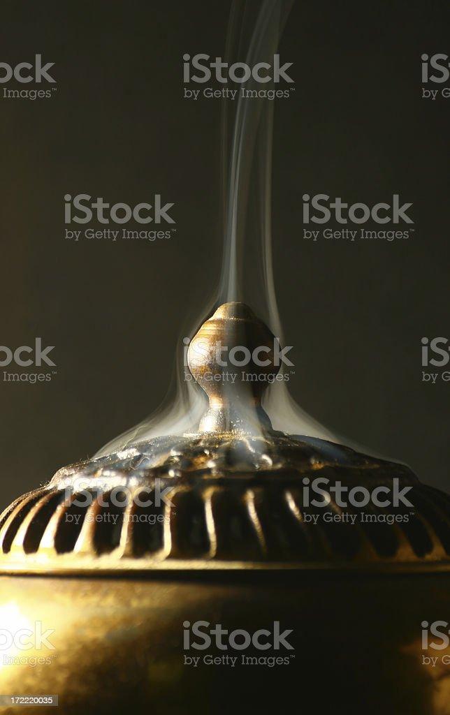 Smoking Censer 3 stock photo