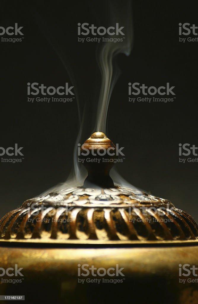 Smoking Censer stock photo