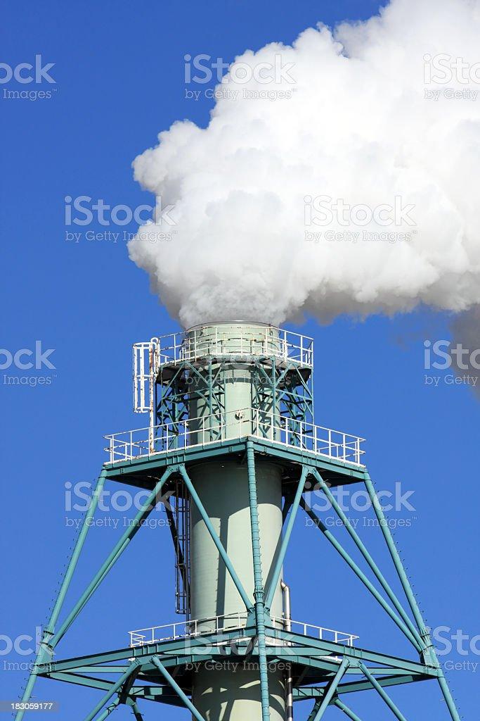 Rauchen Schornsteine Lizenzfreies stock-foto