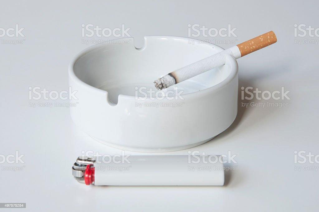 smoking equipment stock photo