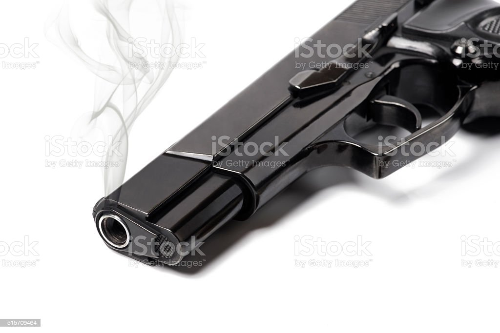 Smoking Gun stock photo