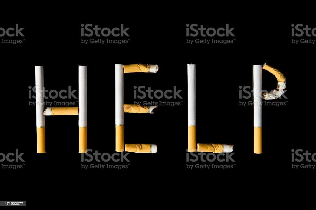 Smoking Help royalty-free stock photo