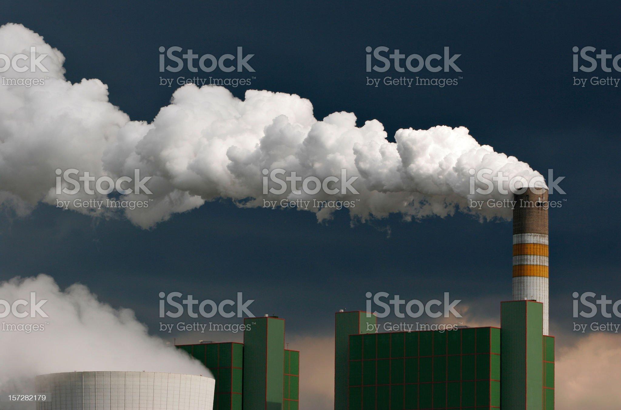 Smoking Industry royalty-free stock photo