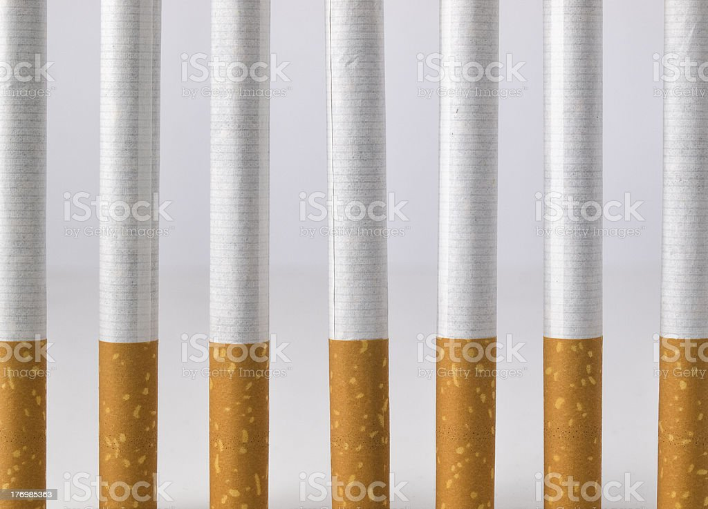 Smoking is a prison royalty-free stock photo
