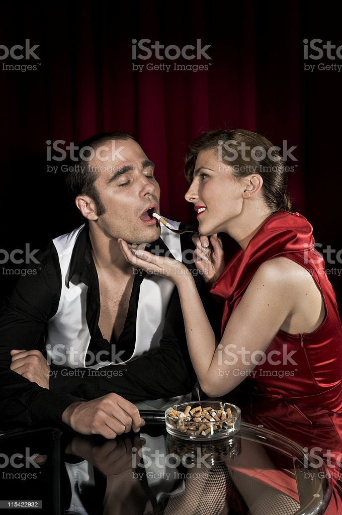 smoking issues royalty-free stock photo