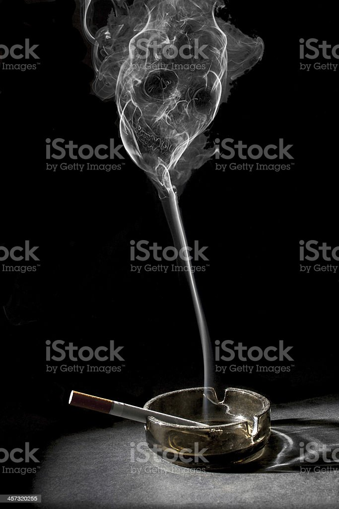 Smoking killing stock photo