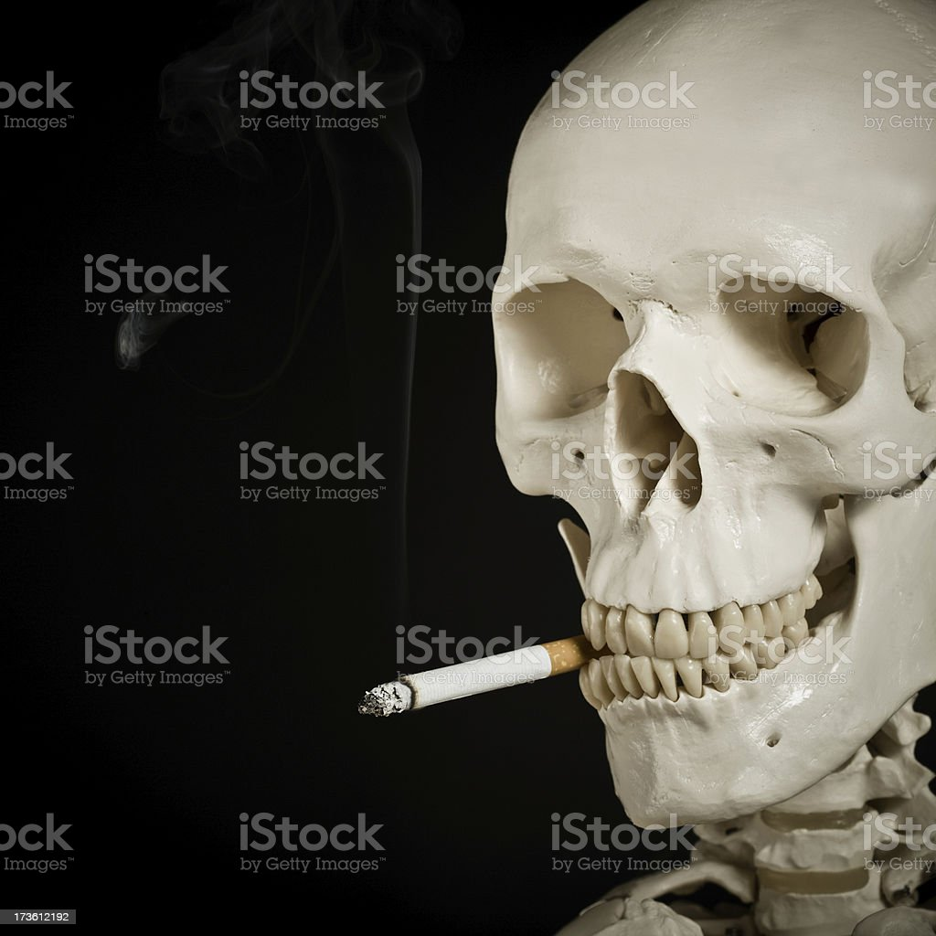 smoking kills royalty-free stock photo