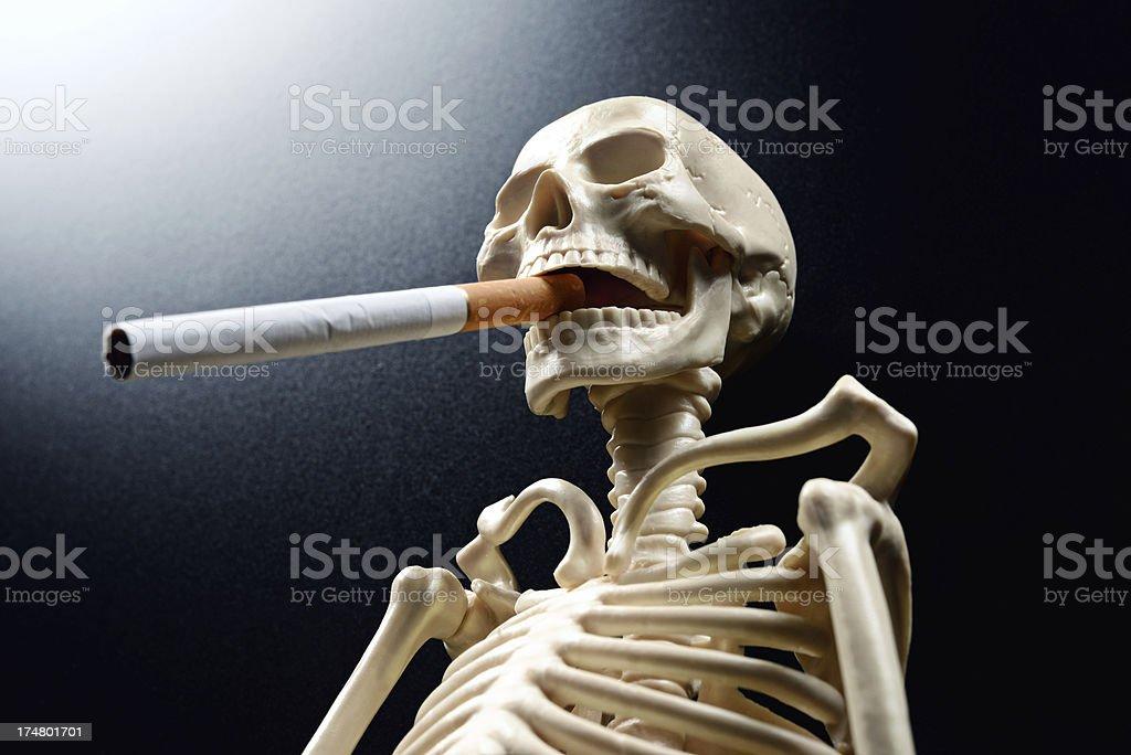 smoking kills stock photo