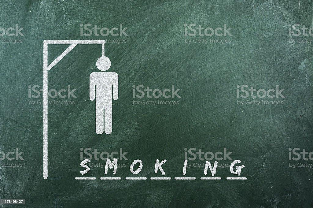 smoking stock photo