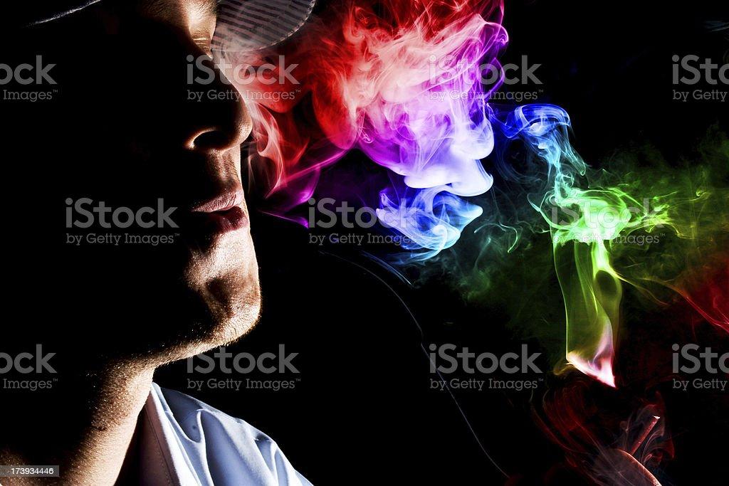 Smoking Pipe (series) royalty-free stock photo