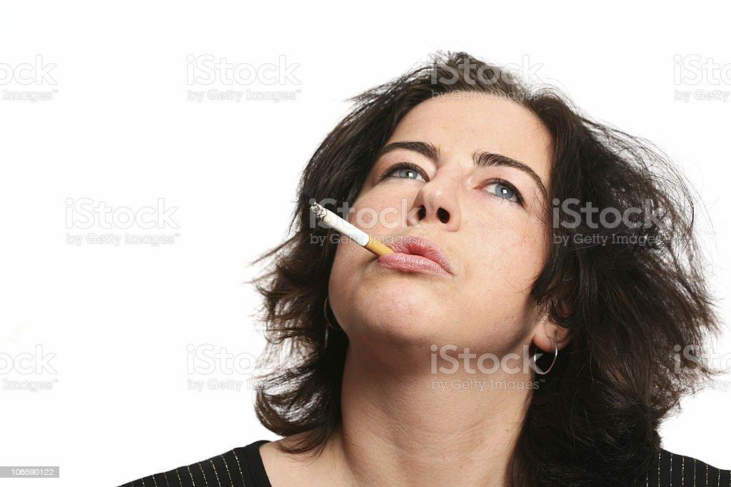 smoking serie stock photo