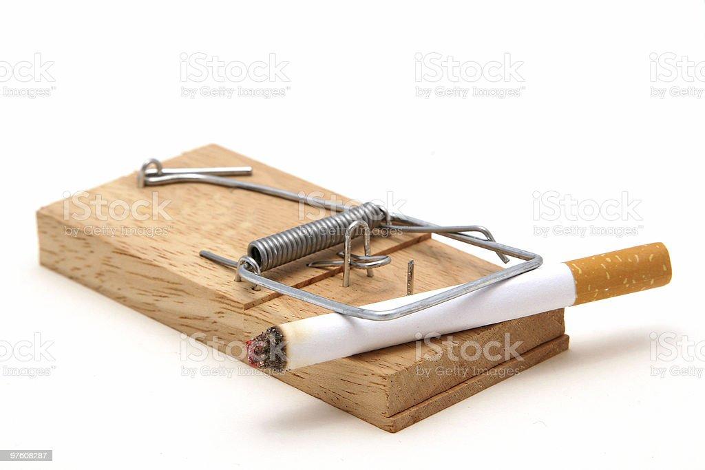 Smoking Trap royalty-free stock photo