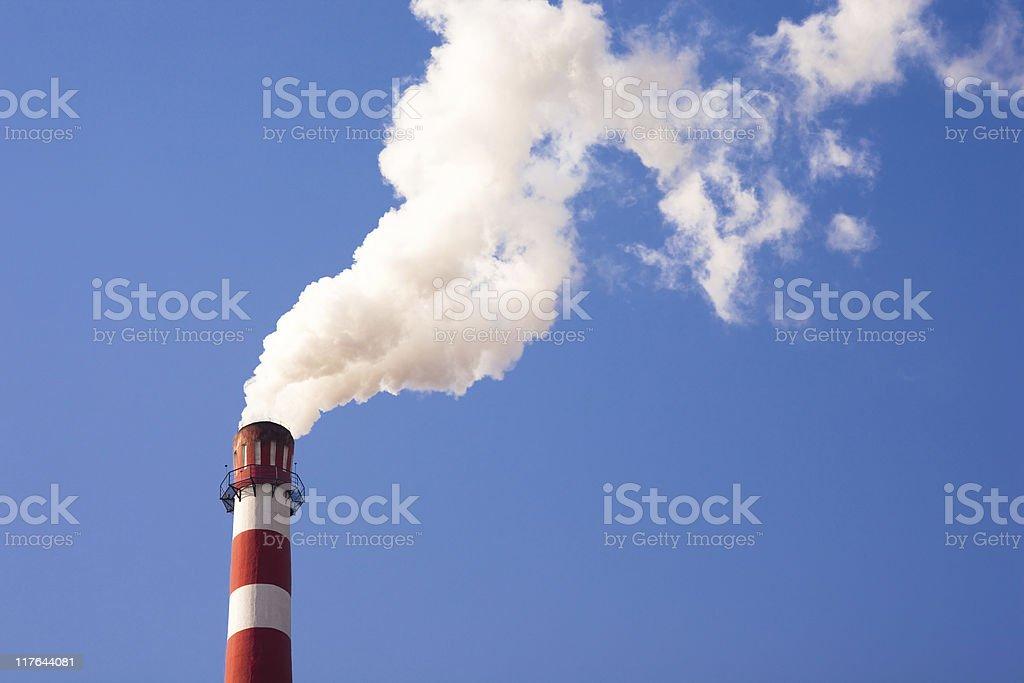 Smoking tube stock photo