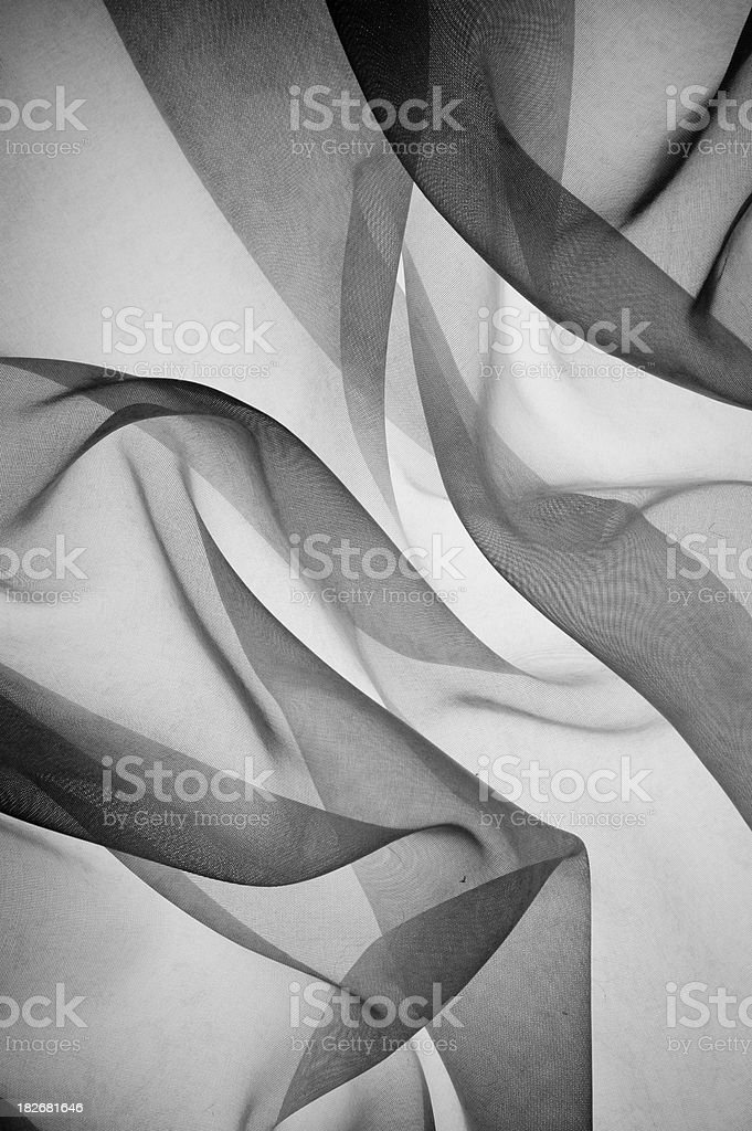smoky gauze fabric 5 stock photo
