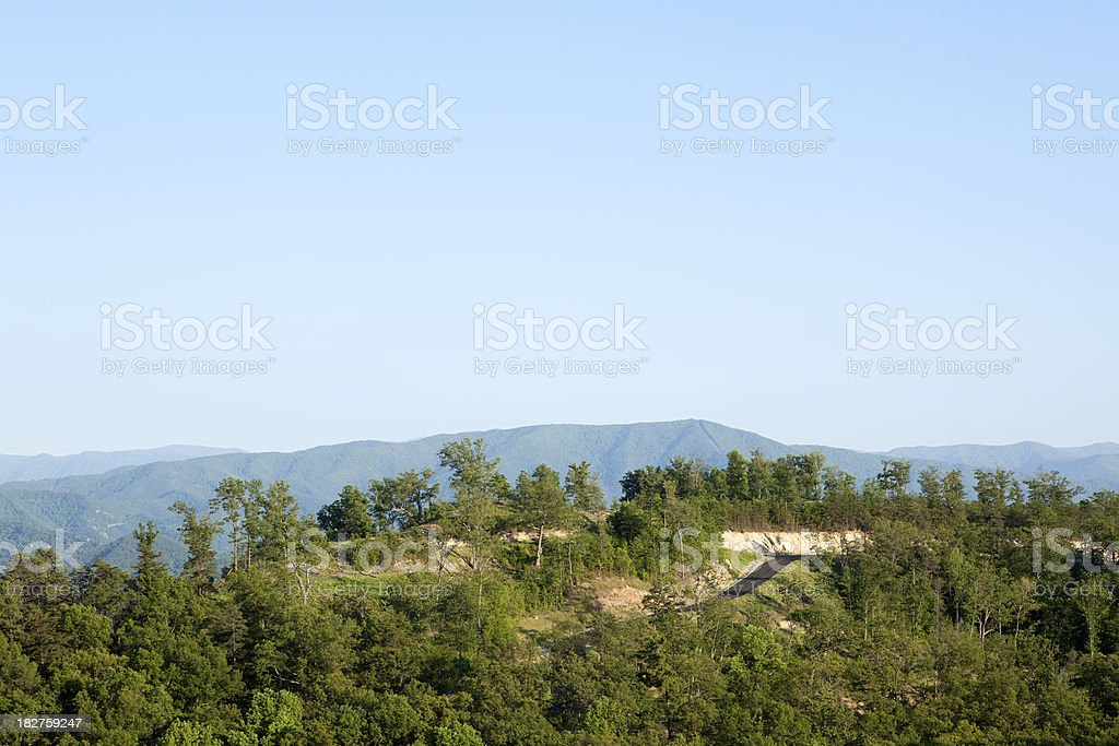 Smoky Mountain View royalty-free stock photo