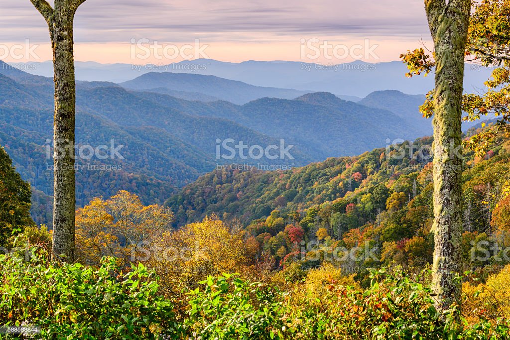 Smoky Mountains National Park stock photo