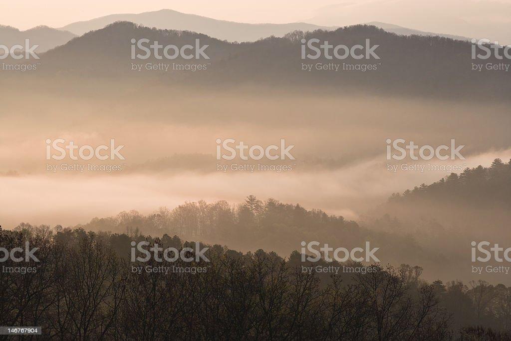 Smoky Mountains royalty-free stock photo