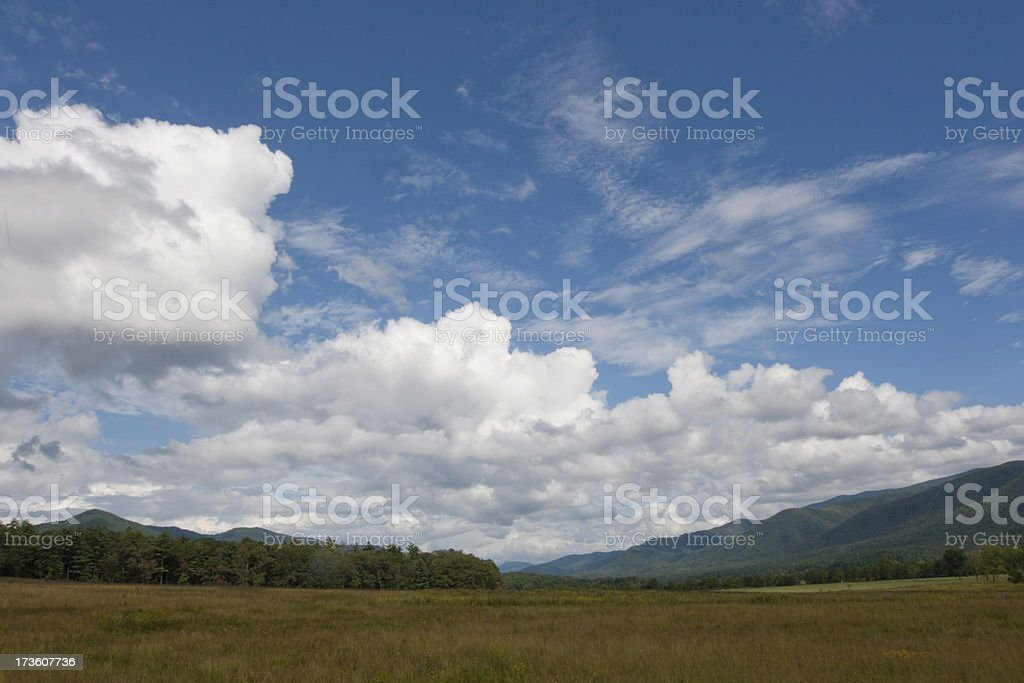 Smoky Mountains valley royalty-free stock photo