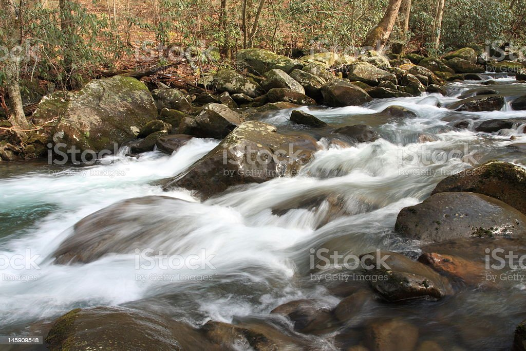 Smoky Stream stock photo