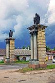 Smolensk gate in Gatchina, Russia