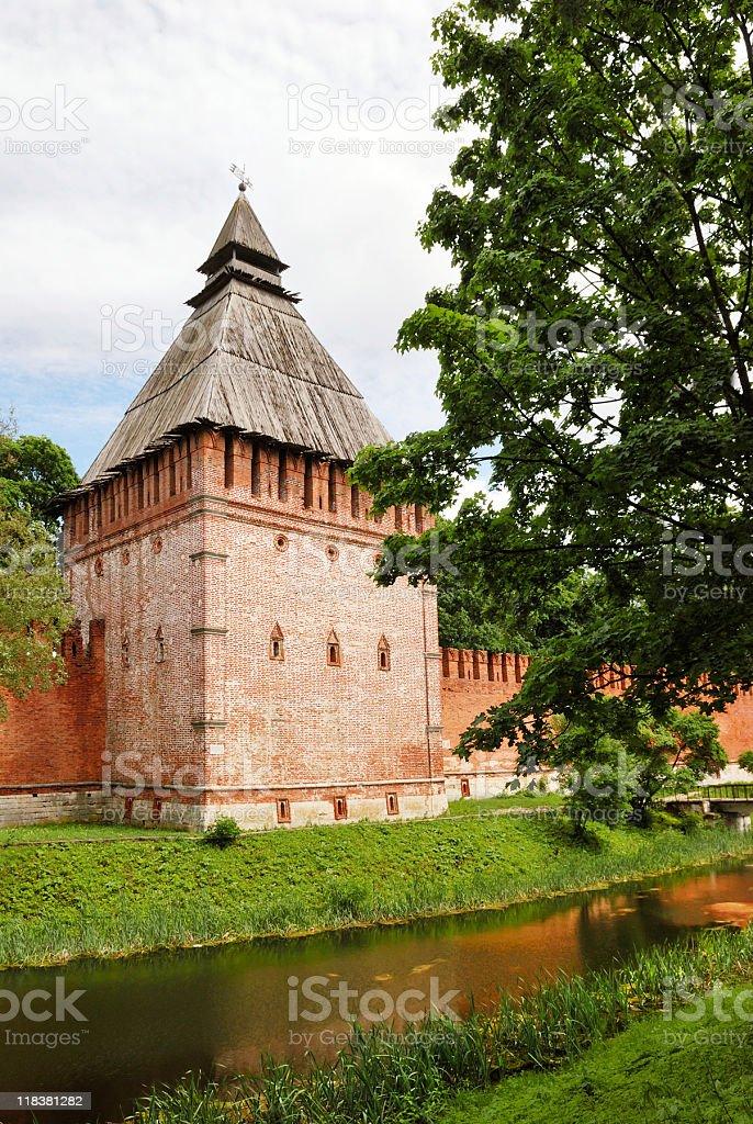 Smolensk: old Kremlin stock photo