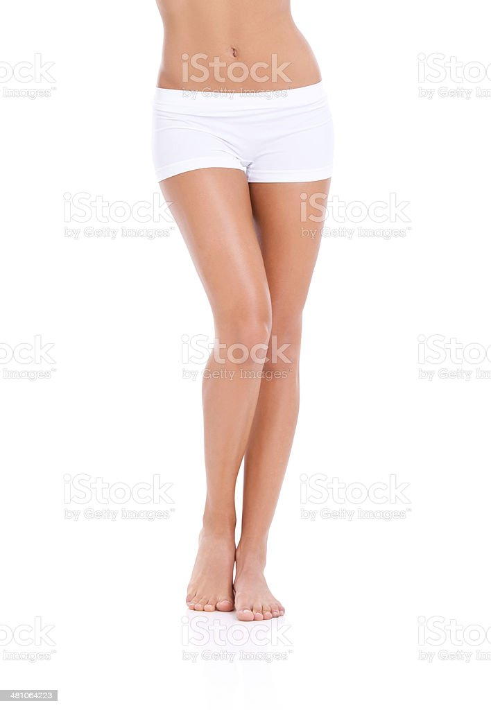 Smooth and shapely stock photo