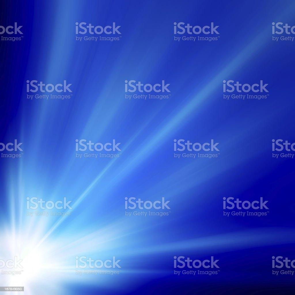 Smooth blue abstract background royalty-free stock photo