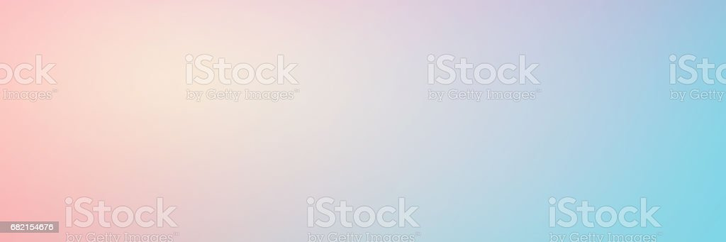 Smooth gradient background with pastel pink and turquoise colors....