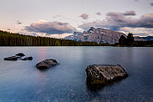 Smooth Lake - Banff National Park