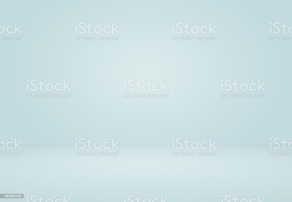 Smooth Light blue Studio well use as background,bussiness report stock photo