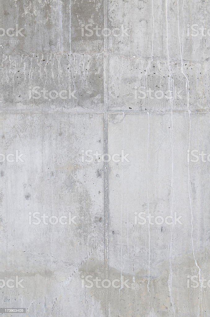 Smooth Modern Fresh Concrete Wall royalty-free stock photo