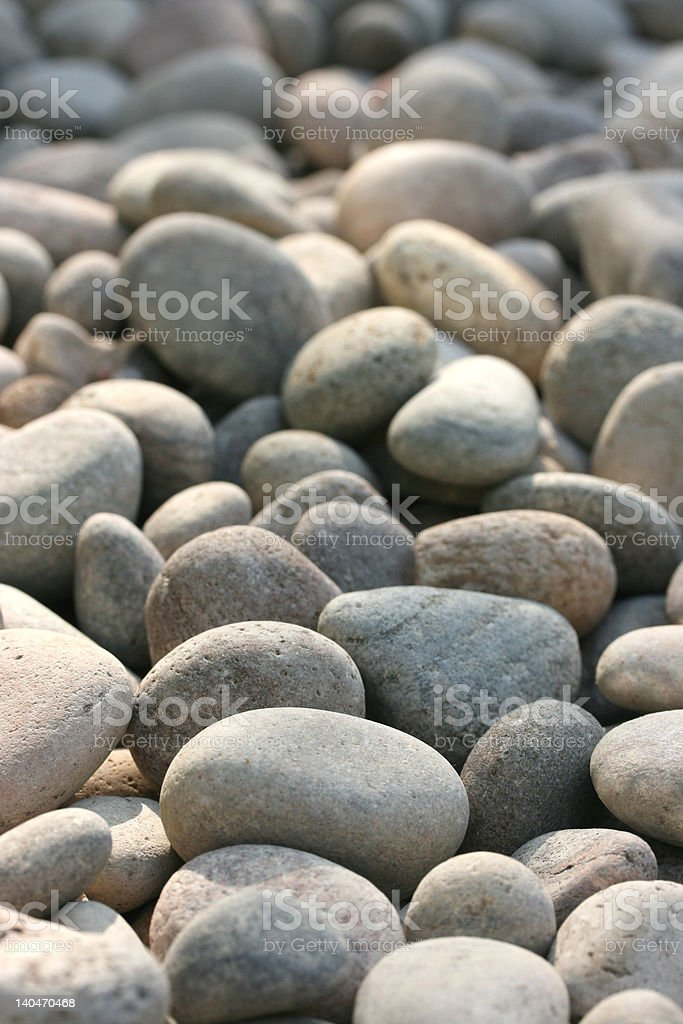 Smooth Pebbles royalty-free stock photo