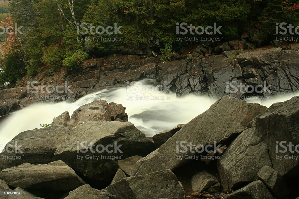 Smooth River stock photo