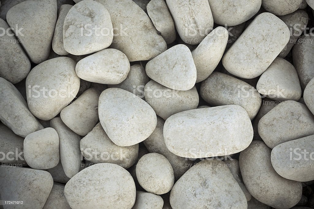 Smooth river stone royalty-free stock photo