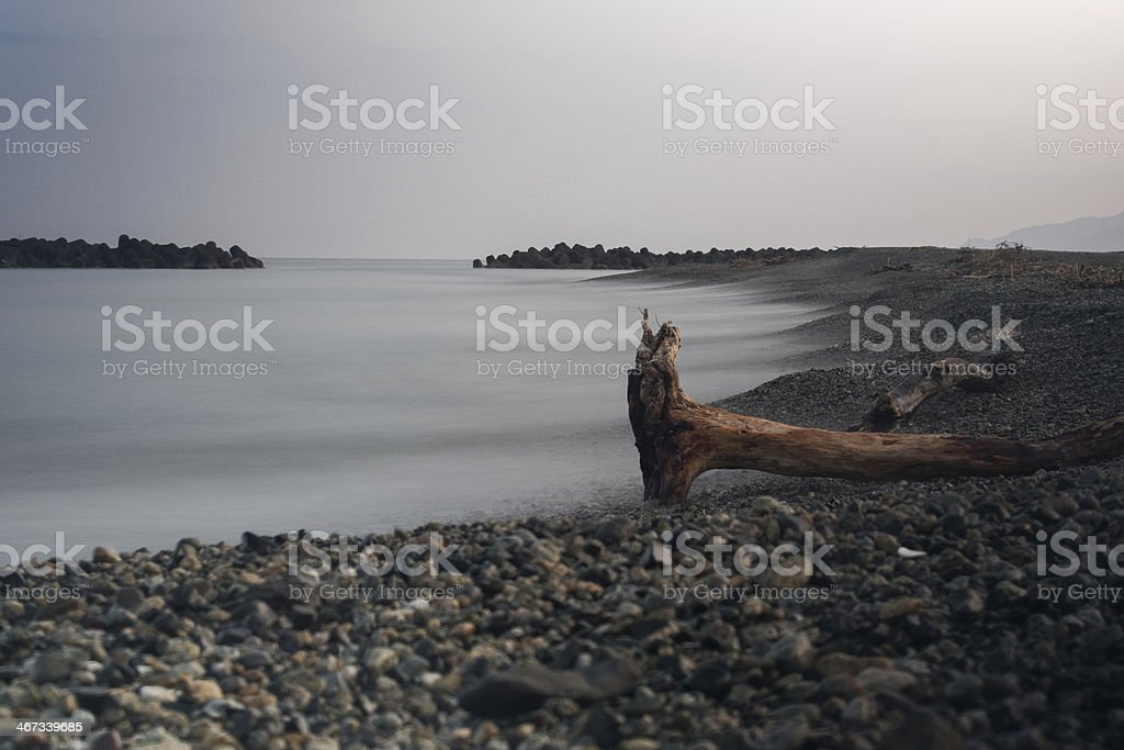 smooth sea 2 stock photo