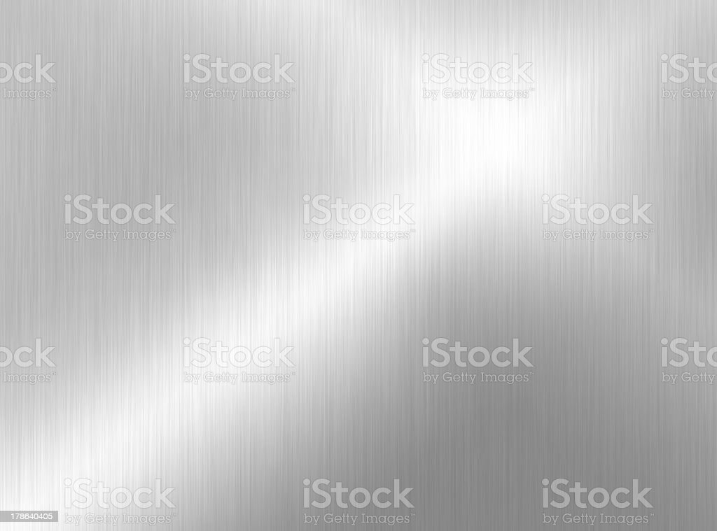 Smooth, Shiny, flat, metal surface background stock photo