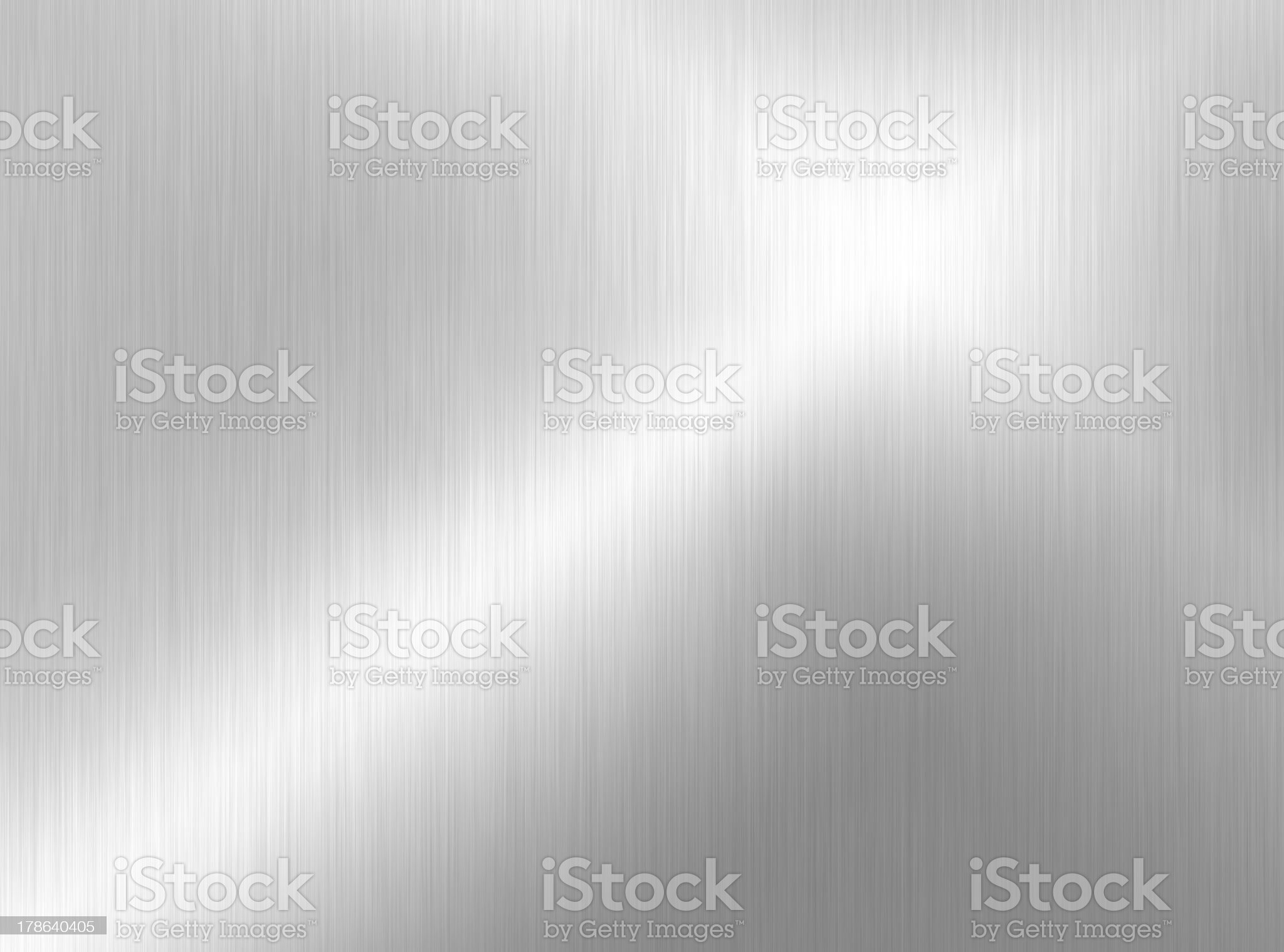 Smooth, Shiny, flat, metal surface background royalty-free stock photo