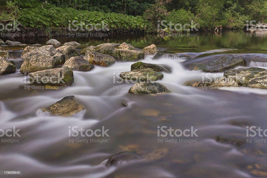 Smooth Stream stock photo