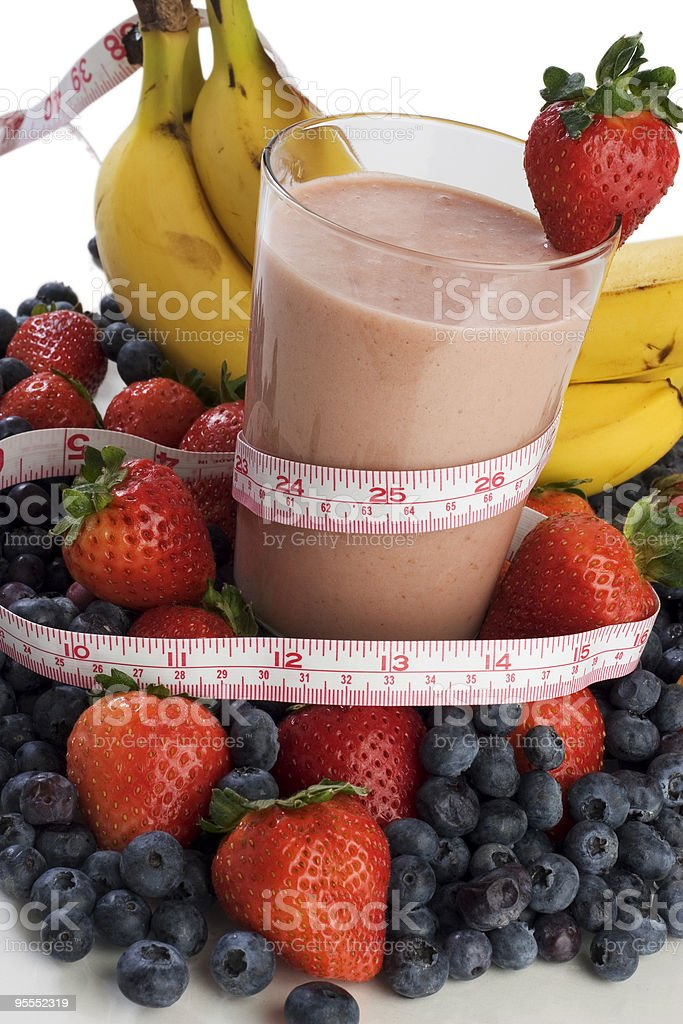 Smoothie for slimness royalty-free stock photo