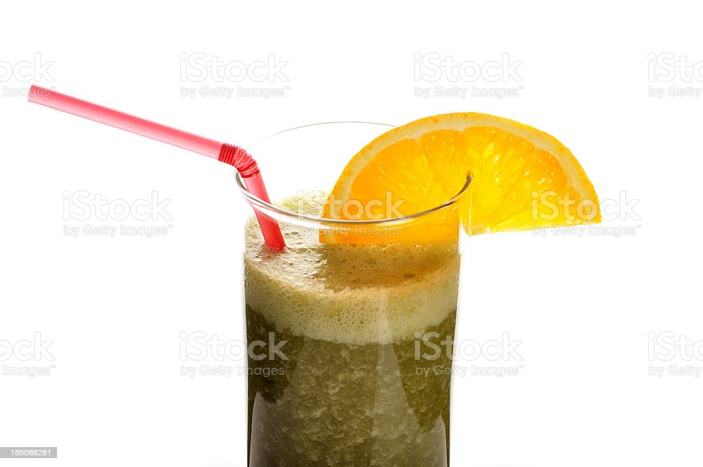 Smoothie glass royalty-free stock photo
