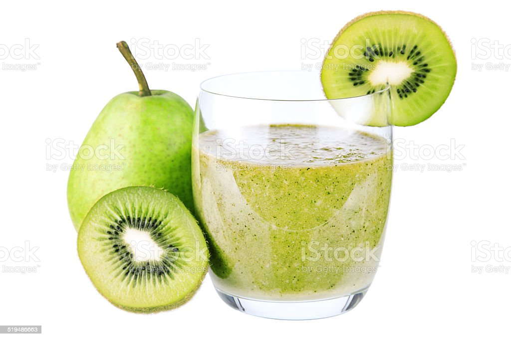 Smoothie gr?n stock photo