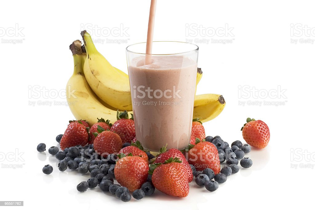 Smoothie royalty-free stock photo
