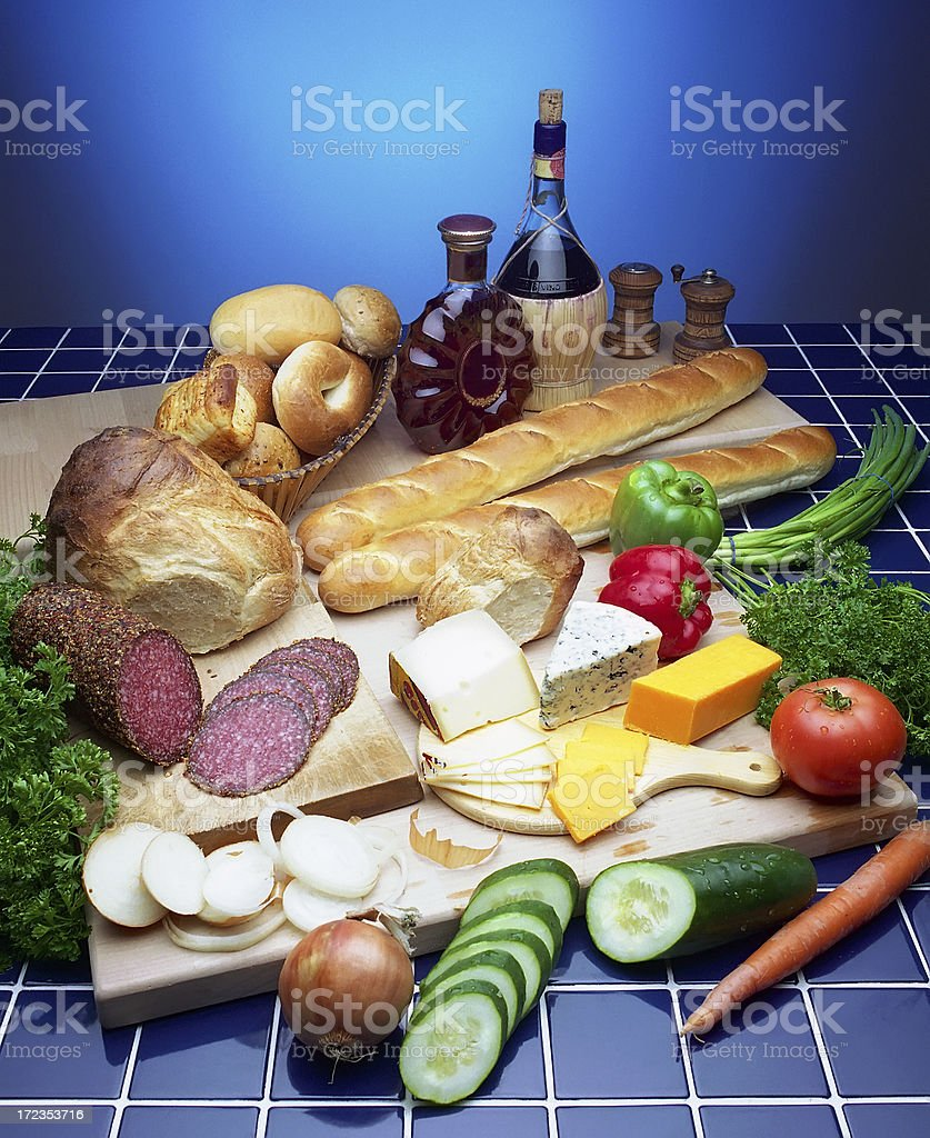 Smorgasbord royalty-free stock photo