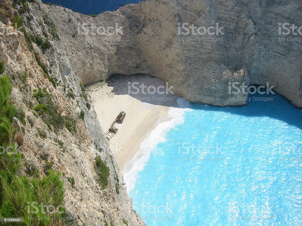 Smugglers beach royalty-free stock photo