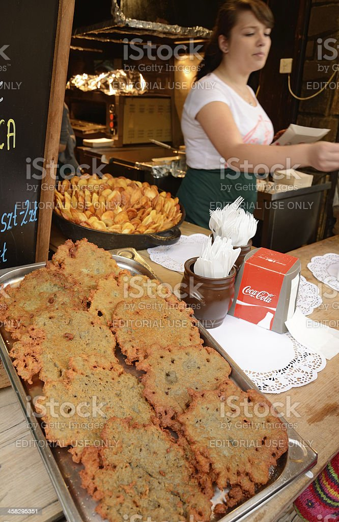 Snack bar royalty-free stock photo